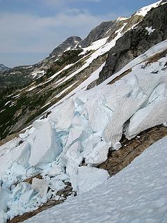 The Second Broken Snow Slab