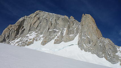 The Amy couloir (obvious one)
