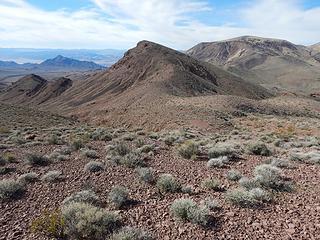southwest peak and Epaulet