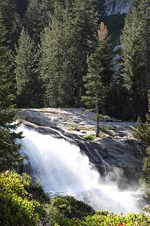 Vidette  Meadows waterfall, Kings Canyon National Park