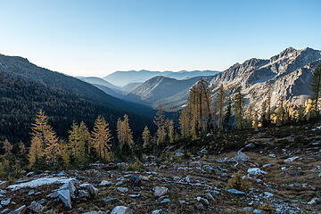 morning light in the north fork entiat valley