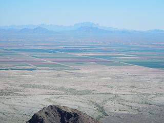 Kofa range over in Arizona