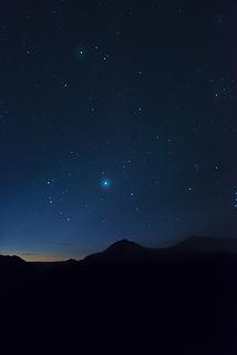 Night sky 3 at Sun Rise MRNP