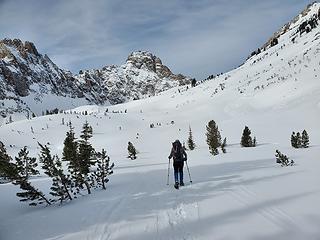 Thompson Peak lies beyond