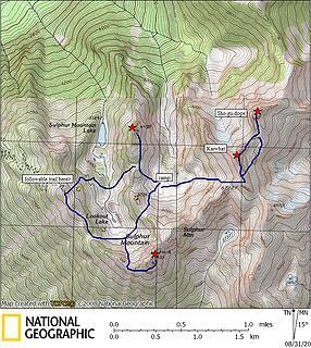 Sulphur route