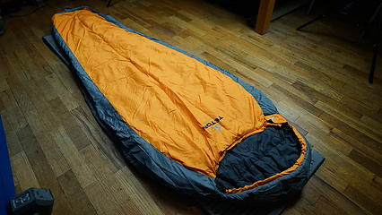 teton sports 20°F bag