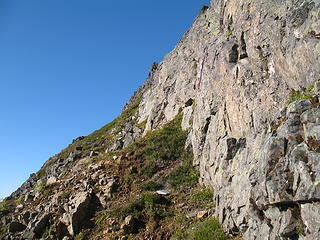 Typical terrain on the lower E Ridge of Johannesburg.