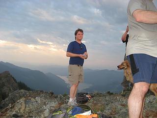 Dan on the summit!