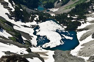 The aptly-named Iceberg Lake.