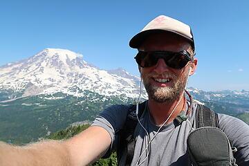 overheating on the summit of Foss