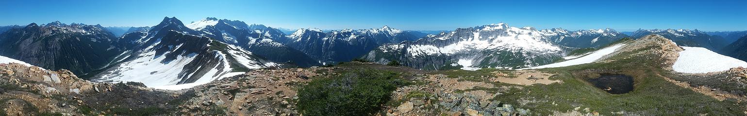Easy Peak panorama