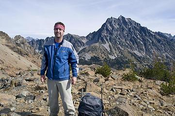Dude arrives on Fortune Peak