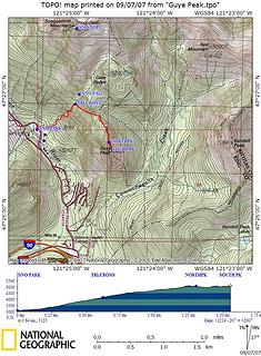 Guye Peak route