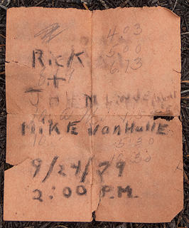 Original 1948 summit register