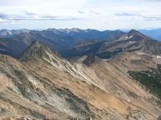 Lago's SE ridge