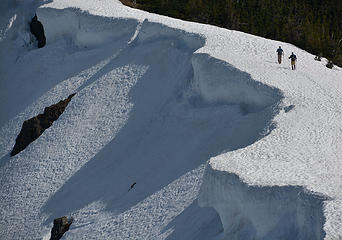Rock Mountain cornices