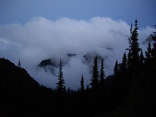 Clouds & trees - Buckhorn Camp