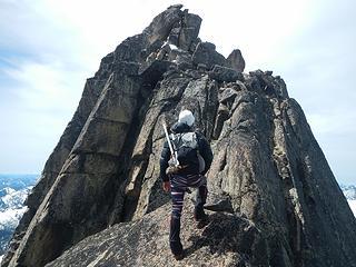 summit looms