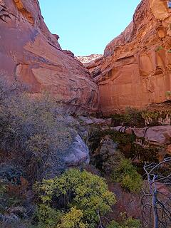 Another side canyon
