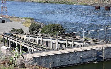 Ice Harbor Dam Fish Ladder