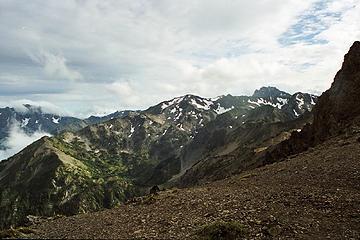 Milk Creek Basin From near Petunia Peak