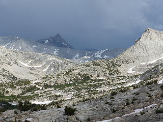Lone Pine Pass & Mount Humphrey