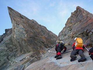 Climbing To The Notch