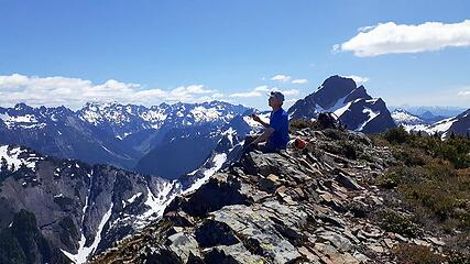 on top at last, Aaron, Del Campo, monte cristos, etc