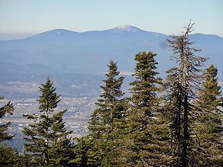 Mt Spokane is very dry.