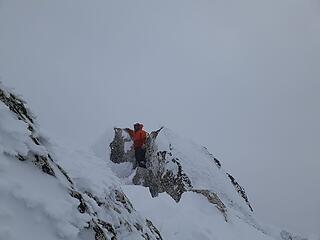 Johnny on the summit