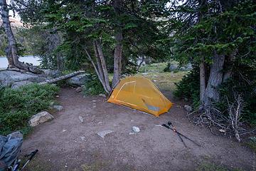 camp site night 1