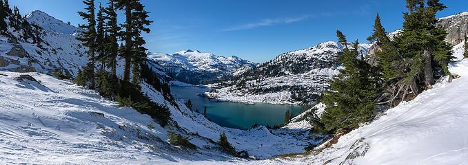 First views of Berdeen Lake
