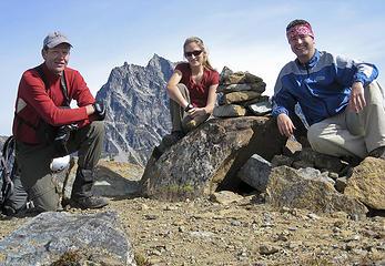 Fortune Peak summit shot