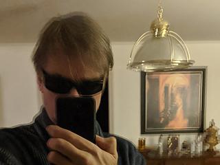 Trailhead selfie