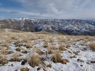 Craig Mtn across the Snake. This is an enormous wildlife area in Idaho.