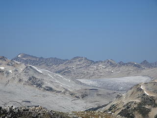 Low glacier below Muon Mtn.