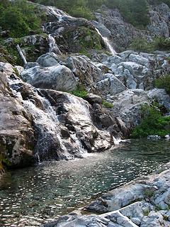 Ivanhoe Waterfall