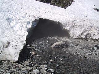 Snow cave 1