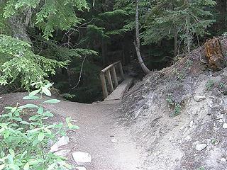 Start of Crystal Lake trail.
