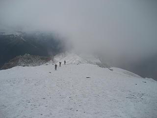 Heading Back, Main Ridge