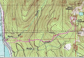 Mt Margaret track