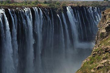 Victoria Falls, Zimbabwe. Nikon D300, Nikkor 50mm Series E