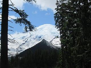 Rainier from the Glacier Basin Trail