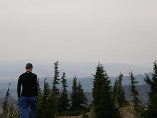 Views from Miller Peak summit.