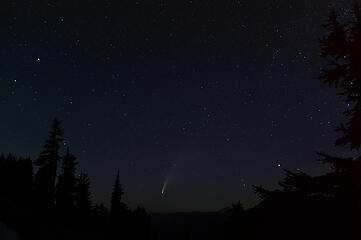 Comet - taken from Big Heart Lake