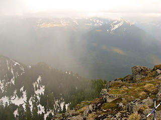 VIew from summit of Mount Teneriffe