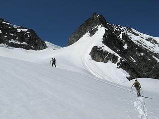 Nearing the Douglas-Banded col