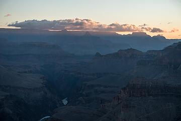 sunrise from yuma point camp