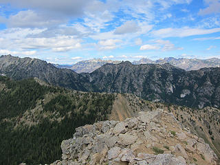 Chelan Mtns and Pomas Pass