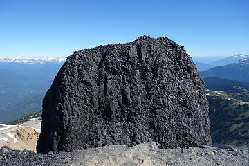 The true summit from false summit